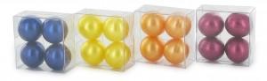 Boîte 4 perles de bain