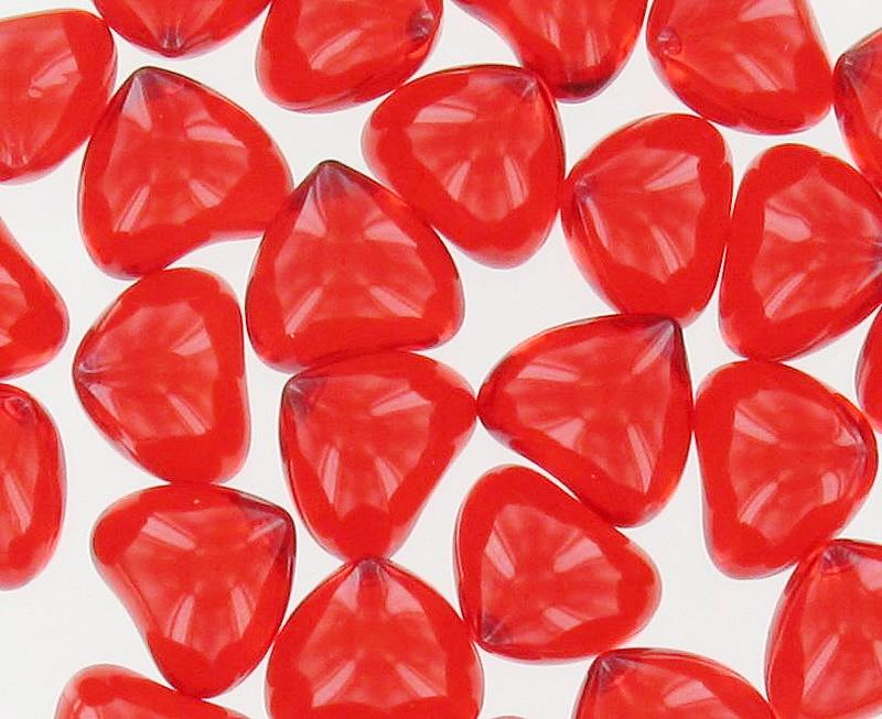 perles de bain coeur fraise