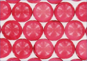 Perles de bain translucides